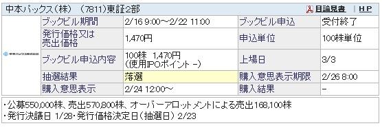 中本パックス(SBI証券)