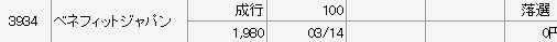 ベネフィットジャパン(マネックス証券)