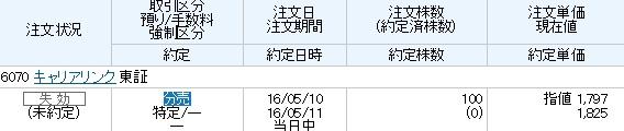 キャリアリンク(丸三証券)