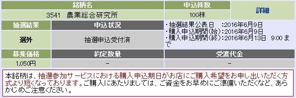 農業総合研究所(大和証券)
