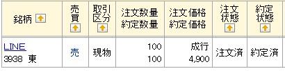 LINE(マネックス証券)