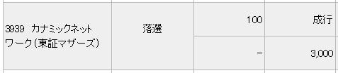カナミックネットワーク(みずほ証券)