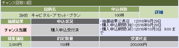 キャピタル・アセット・プランニング(大和証券)