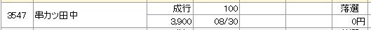 串カツ田中(マネックス証券)