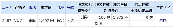 CDG分売(ライブスター証券)