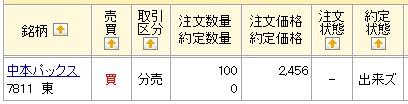 中本パックス(マネックス証券)