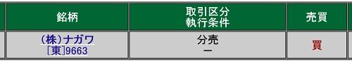 ナガワ分売(松井証券)