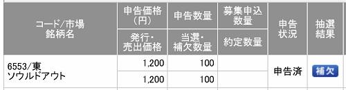 ソウルドアウト(SMBC日興証券)