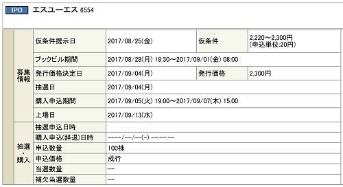エスユーエス(岡三オンライン証券)