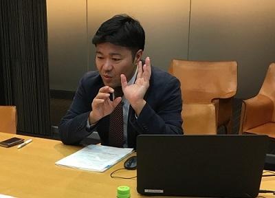 岡三オンライン証券 田村様