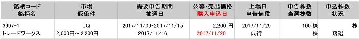 トレードワークス(岡三証券)