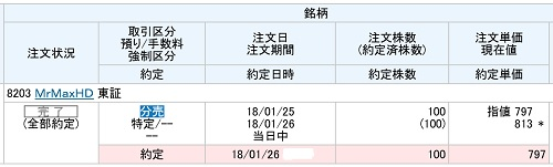 MrMaxHD(丸三証券)