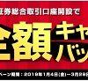 岡三オンライン証券が取引手数料全額キャッシュバックキャンペーンを実施中!