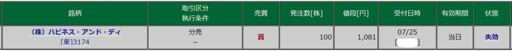 ハピネス・アンド・ディ(松井証券)