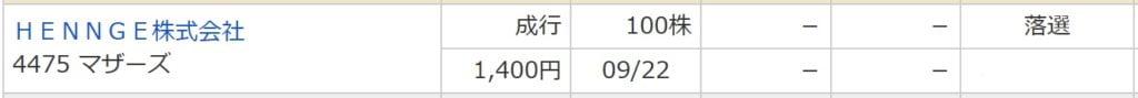 HENNGE(マネックス証券)
