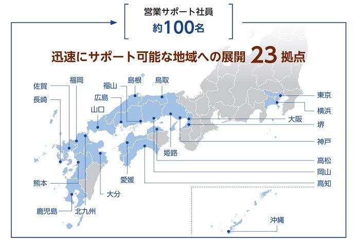 東和ハイシステムの営業サポート体制