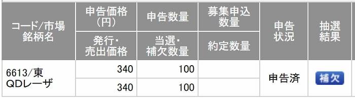 QDレーザ(SMBC日興証券)