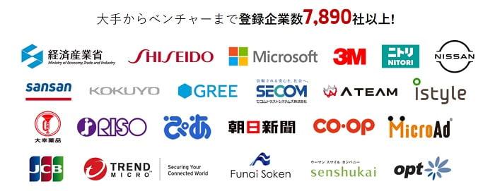 OfferBoxの登録企業