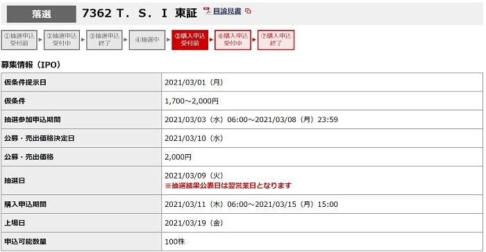 T.S.I(野村證券)